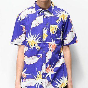 VANS BNWT shirt short sleeve sz Medium purple